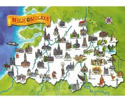 Map Of Europe Game by Maps Of Belgium Detailed Map Of Belgium In English Tourist Map