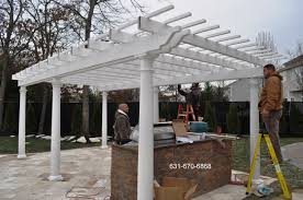 pergola designer builders contractors long island ny deck
