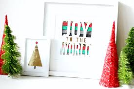 diy washi tape christmas art the pretty life girls