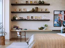wall shelves bedroom contemporary brown wood wall shelves for bedroom with