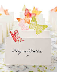 Place Cards Wedding Diy Seating Cards And Displays Martha Stewart Weddings