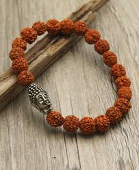 men bracelet bead images Men 39 s rudraksha beads buddha bracelet jpg
