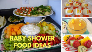 Youtube Baby Shower Ideas by Baby Shower Food On A Budget Baby Showers Ideas
