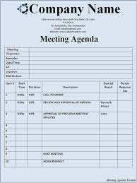 agenda template google docs best agenda templates