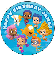 guppie cake toppers guppies cake topper