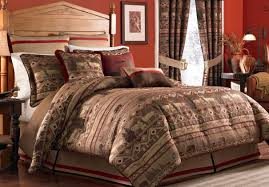 Red And White Comforter Sets Duvet Awesome Red King Size Bedding Sets Details About Red Brown