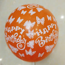 happy birthday balloon 100pcs lot happy birthday balloons 12 inch helium