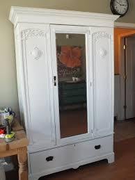 White Wardrobe Closet Vintage Wardrobe Closet House Of Rumours