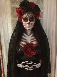 catrina costume hi i made my costume and did my own makeup and i m not