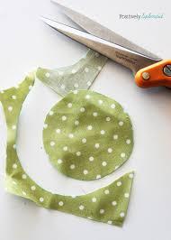 fabric yo yo tutorial with free printable templates
