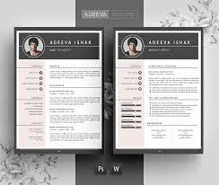 professional resume template ishak resume templates creative