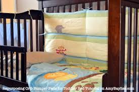Mini Crib Bumper Pads by Repurpose Crib Bumper Pads Creative Ideas Of Baby Cribs