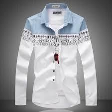 aliexpress com buy big size new 2017 mens shirt slim fit fashion