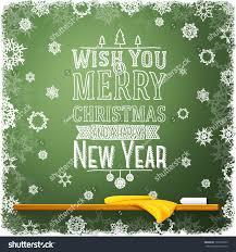 wish you merry happy new stock vector 161853023