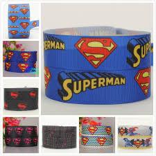 superman ribbon 7 8 22mm new superman ribbon grosgrain