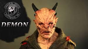 immortal masks demon silicone mask youtube