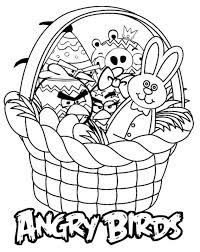 simple easter coloring pages 28 cool easter basket coloring pages celebrations printable
