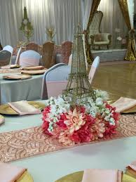 Centerpieces For Quinceanera Interior Design Fresh Paris Party Theme Decorations Decoration