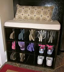 Small Shoe Bench by Personable Shoe Storage Closet Ideas Roselawnlutheran