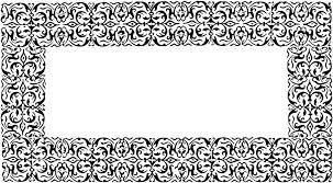 Decorative Frame Png Free Illustration Ornate Decorative Border Frame Free Image