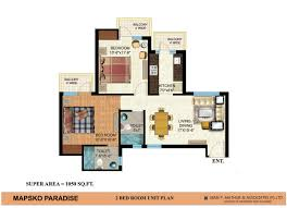 2bhk floor plan 2bhk semi furnished apartment on rent in ground floor