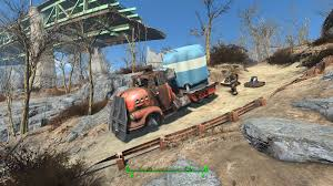 driveables of the commonwealth semi trucks at fallout 4 nexus