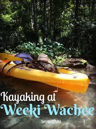 kayaking at weeki wachee shear katrina
