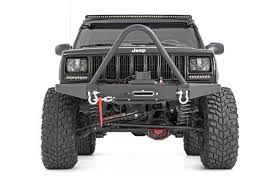 jeep truck lifted 4 5in x series suspension lift system for 84 01 jeep xj cherokee