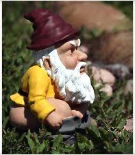 ceramic porcelain gnomes sprites statues lawn ornaments ebay