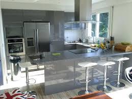 cuisine am駻icaine bar plan de travail cuisine am駻icaine 100 images hauteur meuble