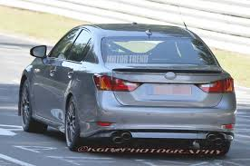 lexus sc300 rear diffuser spied 2015 lexus gs f storms the u0027ring smiles for the camera