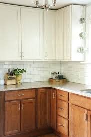 2 tone cabinet vintage charm on trend two tone kitchen cabinets