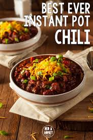 chili cuisine best instant pot chili recipe dried beans without pre
