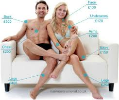 how much does laser hair removal cost on back laser ipl hair removal general average prices in uk 2015
