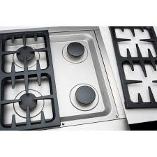 Propane Gas Cooktop Dcs Professional 36 Inch 4 Burner Propane Gas Cooktop With Griddle