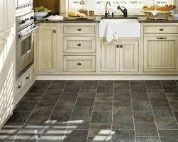 Kitchen Floor Tile Black Tile Floor Kitchen Homes Design Inspiration