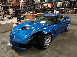 ebay corvette parts crashed c7 corvette stingray on ebay corvetteforum