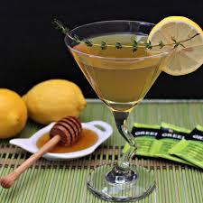 martini green green tea martini food fanatic