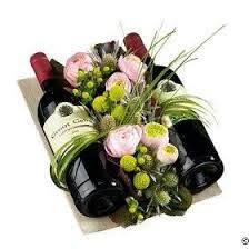 flowers wine wow sitges gift flowers wine gift set