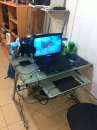 gaming laptop desk amazing laptop desk setup with 1000 ideas about desk setup on