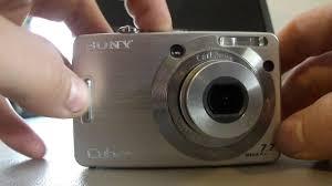 sony cybershot dsc w55 stuck lens fix repair youtube