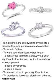 ring meaning promise ring for meaning rings