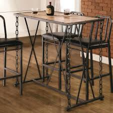 Dining Room Tables Rustic Rustic Bar Height Table Set Rustic Bar Height Dining Table