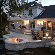 Backyard Stone Fire Pit by 174 Best Fire Pit Outdoor Fireplace Images On Pinterest Patio