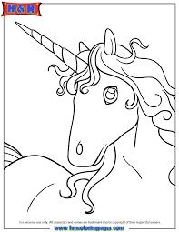 picture of unicorn head portrait coloring page h u0026 m coloring pages