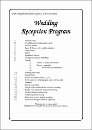 wording for wedding programs wedding 20 tremendous wedding program sle wedding program