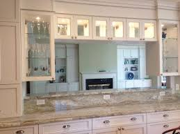 Traditional Double Sided Kitchen Over Range And Counter Cabinets With Double Sided Glass Google