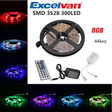 Led Color Changing Light Strips by Excelvan Flexible Strip 300leds Color Changing Led Light Strip Kit