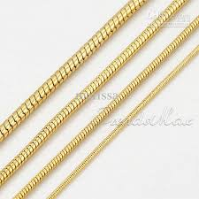 gold chain necklace snake images 2018 4 width 19 5 top quality mens snake chain jewelry 18k gold jpg