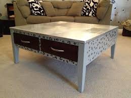 spray painted coffee table coffee table design ideas